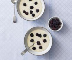 White Chocolate and Coconut Rice Pudding