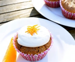Sugar-Free Hazelnut Orange Cupcakes