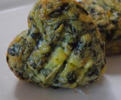 Kale eggy tarts