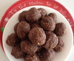 Raw Brownie - Protein balls/slice
