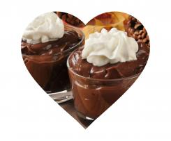 Dutch chocolate pudding