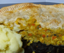 Hunters Curry Chicken and Veg Pie