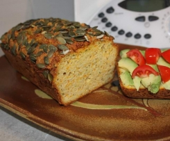 Pumpkin, Zucchini & Almond Loaf (gluten, dairy & sugar free)