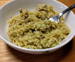 Chicken and Zucchini brown rice Risotto