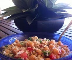 Quinoa & Shredded Chicken Salad