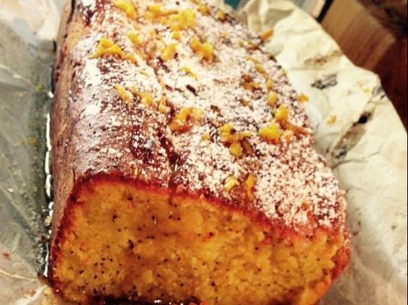 Orange Syrup Cake Thermomix