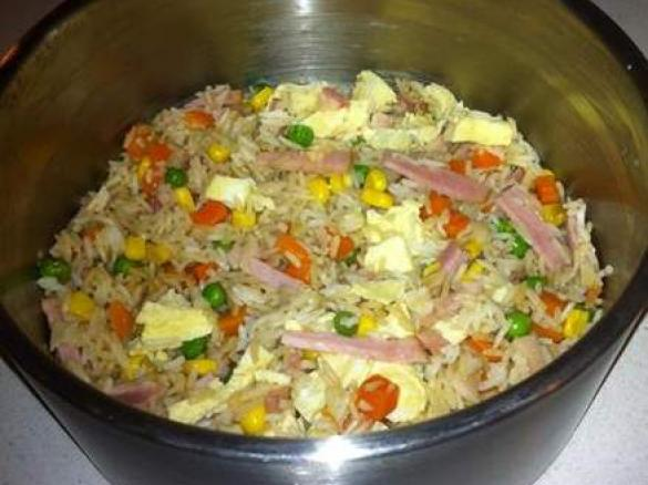"""""""fried"""" rice for two people by thermosimsa. A Thermomix ..."""