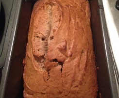 Healthy Banana Bread (gluten-free)
