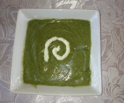 Split Pea, Coconut and Silverbeat Soup