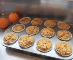 Orange, Date & Walnut Muffins