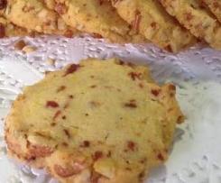 Cranberry and pecan cookies