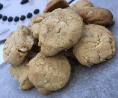 Macadamia & Ginger Cookies
