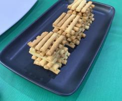 Super Easy British Cheese Straws