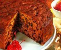 Hi fibre boiled fruit cake
