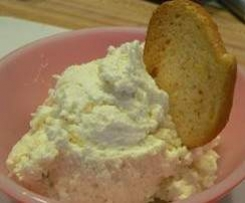 Dill, Feta, Cream cheese dip