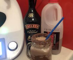 Salted Caramel Baileys, Cocopops and Nutella Milkshakes