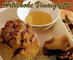 Artichokes Vinaigrette in the Varoma!