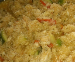 Chicken and Zucchini Cous Cous