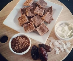 Coconut and Cacao Peppermint paleo bars