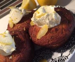 Coconut Poppyseed and Lemon Cupcakes (Sugar Free)