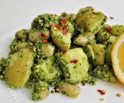 Potato & White Bean Pesto Salad