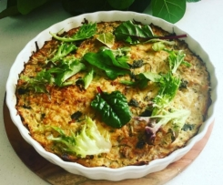 Easy Green Vegetable Quiche