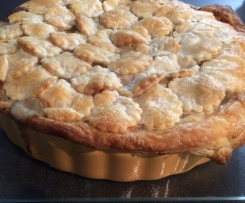 Chicken and Mushroom Family Pie