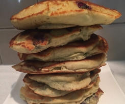 Blueberry pancakes - Gluten free, grain free, can be dairy free