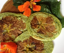 Pesto and Kale (PK) Pikelets