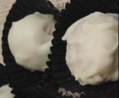 Sonia's white chocolate truffles
