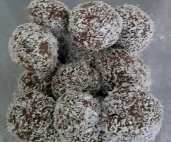 Quick and easy rum balls
