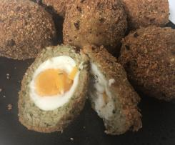 Pete's scotch eggs