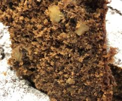 Chocolate Walnut Banana Cake