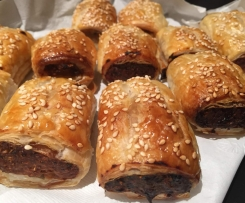 Turkey Cranberry Sausage Rolls