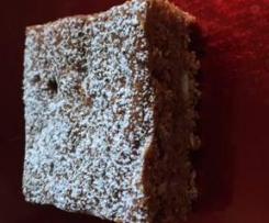 Chocolate Choc Chip  Brownie Slice