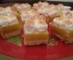 Topsy Turvy Lemon Meringue Pie