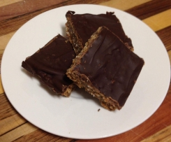 Date, Walnut & Dark Chocolate Slice