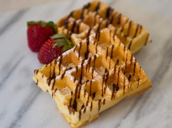 Classic Waffles By Mickyh A Thermomix Supsup Recipe In The
