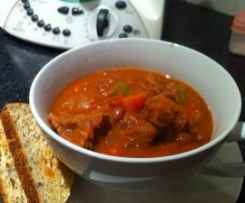 Braised Veal or Beef Texas Style