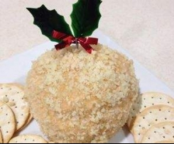 Macadamia Crusted Cheese Ball