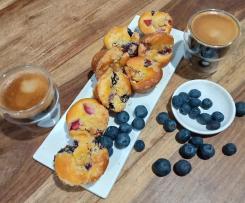 Streusal Berry Muffins