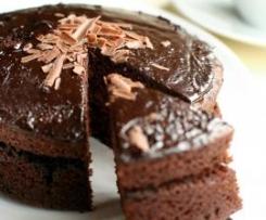 Sue Shepherd's Family Chocolate Cake (GF)