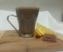 Rich Jaffa Hot Chocolate