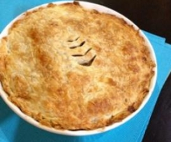 Beef in Beer Pie