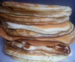 Fluffy and thick pancakes