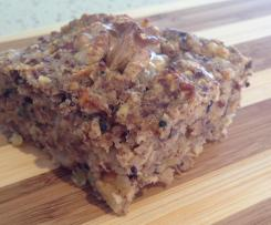 Gluten Free Apple Cinnamon Quinoa Bars