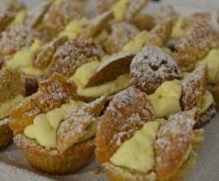 SPELT AND HAZELNUT BUTTERFLY CAKES
