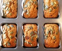 Sweet potato mini loaves