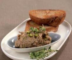 Chicken Liver and Pistachio Pate