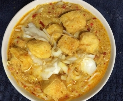 Curry Laksa with Fish